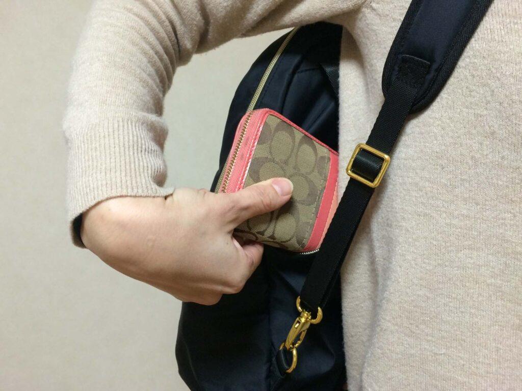 SOHO背面ポケット