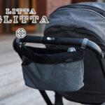 【特集|おしゃれなママはもう使ってる!ベビーカー用バッグが便利】リッタグリッタの多機能3WAYストローラーオーガナイザー