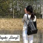 【特集|きれいめ・カジュアルファッションに合うママリュック】レガートラルゴ(Legato Largo)の2WAYリュックが上品&高見え!