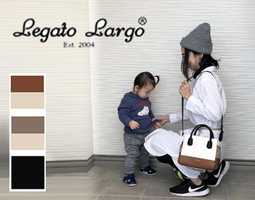 「【レガートラルゴ】子育てママはバッグ2個持ちが便利!おしゃれで収納力のある【2WAYショルダー・ボストンバック】|mamae(ママエ)」のアイキャッチ画像