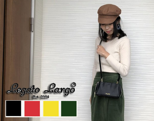 「【レガートラルゴ】ママの定番お財布ミニショルダーバッグはプチプラ高見えバッグがおすすめ |mamae(ママエ)」のアイキャッチ画像
