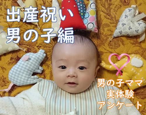 祝い 男の子 出産