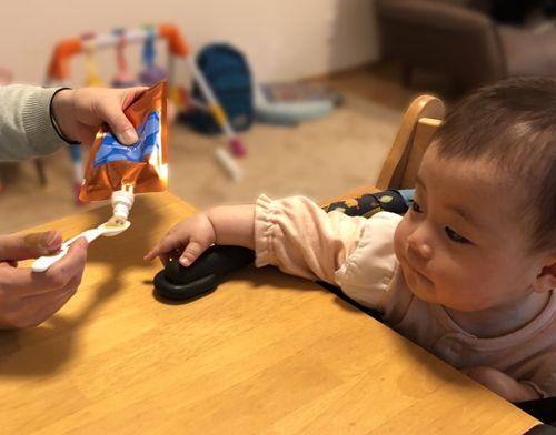 「【実食レポ】おすすめオーガニックベビーフードを生後7ヶ月の赤ちゃんが食べてみた|ベビーオルジェンテ|mamae(ママエ)」のアイキャッチ画像