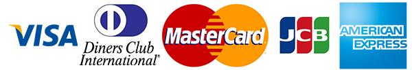 ご利用可能クレジットカードの種類